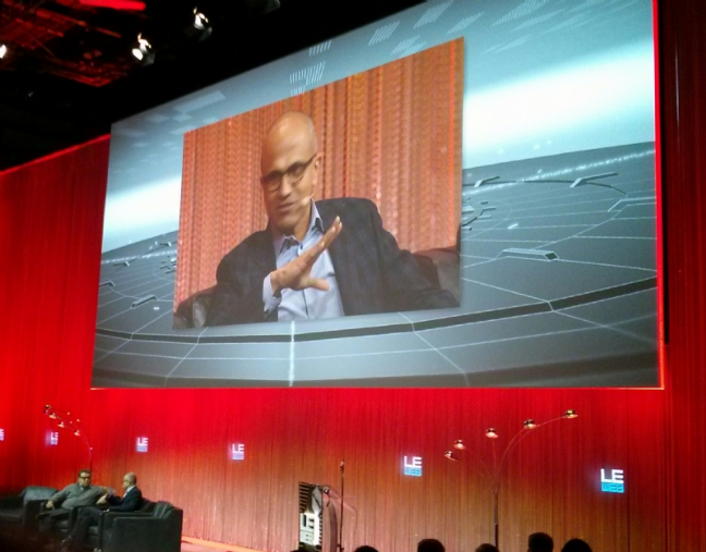 Satya Nadella, VP Cloud & Enterprise, Microsoft