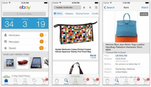 """eBay mise sur la voie du """"mobile first"""""""