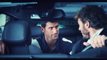 N. Djokovic pendant l'opération Peugeot