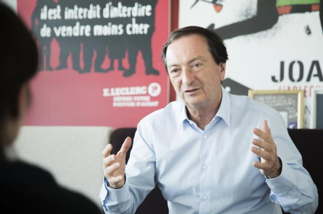 """Michel-Édouard Leclerc: """"Je fédère des entrepreneurs ayant des projets de société"""""""