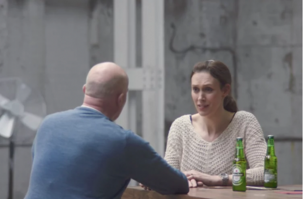 aperçu de la campagne d'Heineken sur le site de Marketing Week