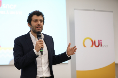 Alexandre Viros, directeur général de OUI.sncf