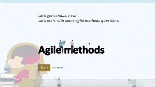 Exemple de questionnaire en ligne pour mesurer la maturité des collaborateurs avant de construire un programme de formation