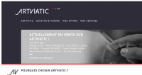 Artviatic : l'achat-vente d'oeuvres d'art sans intermédiaire | Dossier : Le marché de l'art sur la voie de la digitalisa...