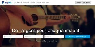 PayPal �toffe son offre de sites marchands
