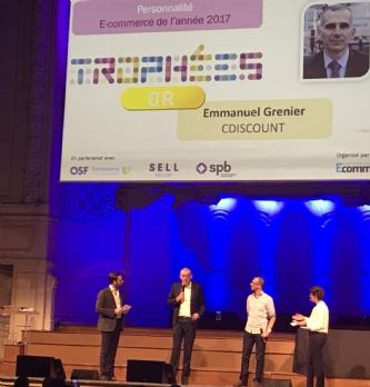 Trophées E-commerce 2017: le palmarès