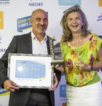 GPCE 17 : Frédéric Salles, p-dg de Matooma, est élu dirigeant de l'année 2017