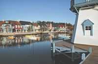 Le Domaine du Lac d'Ailette est le derniér-né, en 2007, de l'enseigne Center Parcs