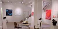 La galerie d'art Arte Vivia de Françoise Lamarre-Hauters (Paris).