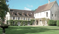 L'abbaye de Morienval (Oise).