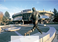 Les espaces du Stade Roland Garros (Paris).