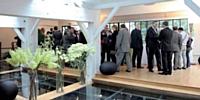 Les apporteurs d'affaires de CFCAL ont été accueillis dans le loft Cyclone Le Studio (Paris XIIIe).