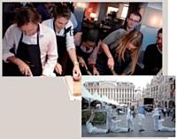 Jeu de piste déjanté dans Bruxelles, atelier de cuisine exotique: l'agence Kaleï Events a misé sur l'originalité pour les collaborateurs de son client.