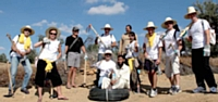 Le challenge a amené les collaborateurs à découvrir le village d'Isgouffa, au Maroc.