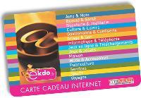 La nouvelle carte de Tir Groupé, eKado, est entièrement dédiée aux achats sur Internet.