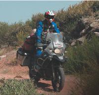 Philippe Rigault a Préparé son périple à moto de trois mois comme il l'aurait fait pour un dossier professionnel.