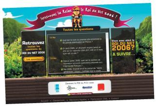 Le jeu-concours de roidunet récompensait les entreprises. Parmi les lots, un audit de son référencement naturel.