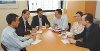 Comme chaque lundi, le comité de direction réunit les trois fondateurs d'Acticall et les chefs de service.