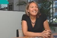 Alexandra Troude, directrice commerciale du département comptage de Sagem