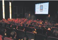 Lors des 4e assises du géomarketing organisées par Géoconcept, le public a pu assister à des conférences données par des spécialistes.
