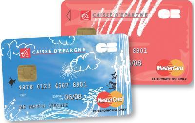 carte bancaire jeune caisse d épargne La Caisse d'Epargne veut séduire les ados