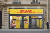 Pour toucher les professions libérales du 8e arrondissement de la capitale, DHL vient d'ouvrir une troisième boutique. Une stratégie de proximité.