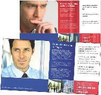 Regus a opté pour du rouge dans le mailing français destiné aux agents immobiliers réputés jeunes et «agressifs», contre du bleu dans le mailing portugais adressé à des professionnels plus âgés.