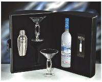 L'un des 11 coffrets «Sélection Prestige» lancés par Bacardi-Martini (de 56,29 à 96,58 Euros HT).