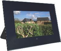 Le cadre photo Telefunken permet de visualiser des photos en diaporama sans passer par un ordinateur (80 Euros HT).