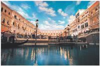 Le Venetian Macao c'est plus d'un million de mètres carrés dédiés au jeu et au tourisme.