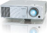 Le P9 de Toshiba [1 099 Euros HT) dispose d'un logiciel intégré qui permet, par exemple, à l'utilisateur de programmer un diaporama.