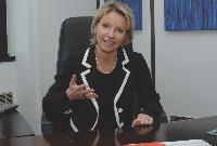 Corinne Grapton, directrice réseau grandes entreprises et administrations de NRG France