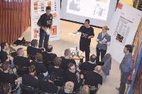 Les participants ont assisté à des ateliers de 30 minutes sur différents thèmes.