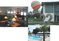 A dix kilomètres de Strasbourg, l'Espace 22, spécialement créé pour les entreprises, comprend trois salles de réunion, une terrasse de 400 m2, une piscine extérieure et un parking privatif.