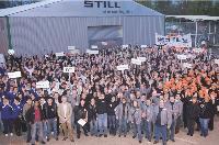 Fin mars, l'usine de Montataire (Oise) a accueilli 650 personnes pour la première convention nationale de Still.
