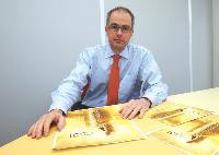 Alexandre Estignard, directeur du développement de la direction Equipements neufs de Koné