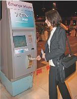 Les bornes «Echange minute Pro» permettent d'échanger un billet jusqu'à une heure après le départ du train.