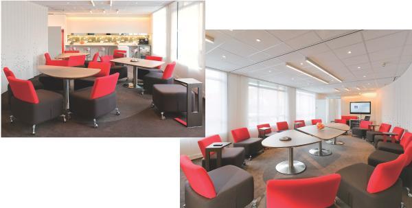 novotel bouscule les codes des salles de r unions d 39 affaires. Black Bedroom Furniture Sets. Home Design Ideas