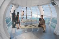 A travers sa filiale Sigma, Poma a été choisi par British Airways pour construire les capsules de la célèbre grande roue de Londres, livrée en 2000. Un chantier qui fait office de vitrine.