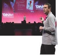 Marc Hia Balié anime seul la convention en passant au crible bilan d'activité, concurrence, chiffre d'affaires et reporting de vente.
