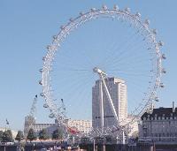 Le «London Eye» à Londres.