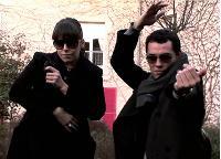 Lors d'un séminaire, les salariés de Heaven ont été invités à parodier huit films cultes, dont Matrix.
