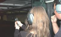 Les hommes comme les femmes ont apprécié l'épreuve de tir au 357 Magnum.