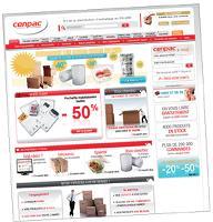 Cenpac a déployé une politique commerciale qui s'appuie sur la convergence de tous ses canaux de distribution, dont le Web.