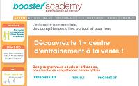 Booster Academy propose des séances d'e-learning de 30 minutes complétées par des séances de coaching.