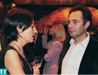 11- Stéfanie Moge-Masson, directrice de la rédaction d'Action Commerciale, en compagnie de Patrick Gendry, directeur associé de Vaudoo.