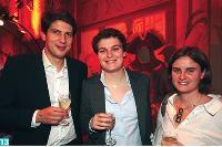 13- Romain Jordan, directeur de clientèle chez Ajilon, Hélène Chomienne, responsable marketing d'Ajilon et Karine Chevallet, chef de produit chez Hachette.