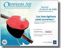 Le tournoi de ping-pong était la première rencontre sportive du plan d'animation 2008-2009 d'Alti. Prochaine étape: un tournoi de billard ce mois-ci.