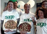Pour le premier Sage Day en France, 5 000 clients ont été contactés en un jour par les équipes de l'éditeur.