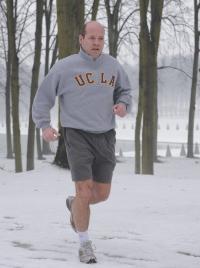 Pour faire face au stress: la course à pied, ici à Marly-le-Roi.